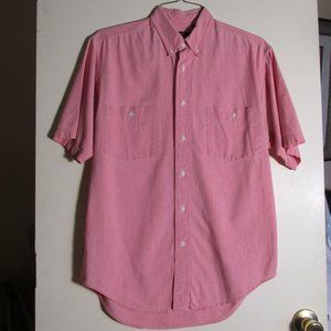 Eddie Bauer SS 100% cotton work shirt